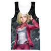 Android 18 Sexy Hoodie - Dragon Ball Super Sexy Clothing - Hoodie Now