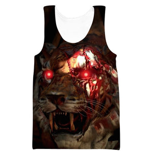 Call of Duty Blackout Sweatshirt - Zombie Tiger Clothes
