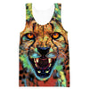 Epic Cheetah Face Tank Top - Epic Animal Clothing - Hoodie Now