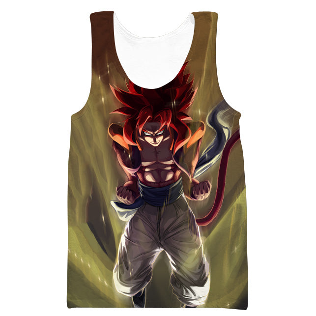 Super Saiayn 4 Gogeta Tank Top - Dragon Ball GT Clothes - Hoodie Now