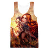 Beautiful Dragon Lady Tank Top - Fantasy Clothes