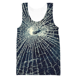 Broken Glass Sweatshirt - Epic Printed Clothes