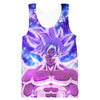 Goku Silver Ultra Instinct Hoodie - Dragon Ball Super Clothing