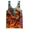 Dungeons and Dragons Adventure Hooded Tank - Nerd Clothing - Hoodie Now