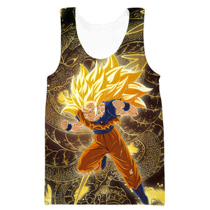 Dragon Ball Tank Tops