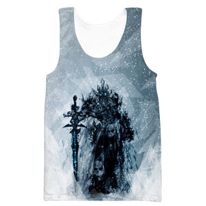 Lich King Arthas Hoodie - World of Warcraft Clothes