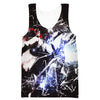 Epic Killua Hooded Tank - Killua Hunter x Hunter Clothing