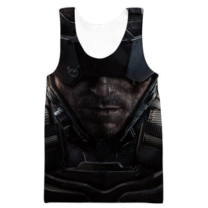Call of Duty Tank Top - Black Ops 4 Blackout Clothes