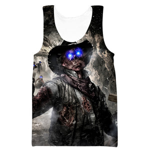 Call of Duty Zombies T-Shirt - Black Ops Zombie Clothes