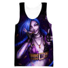 Sexy Jinx Tank Top - League of Legends Jinx Clothes