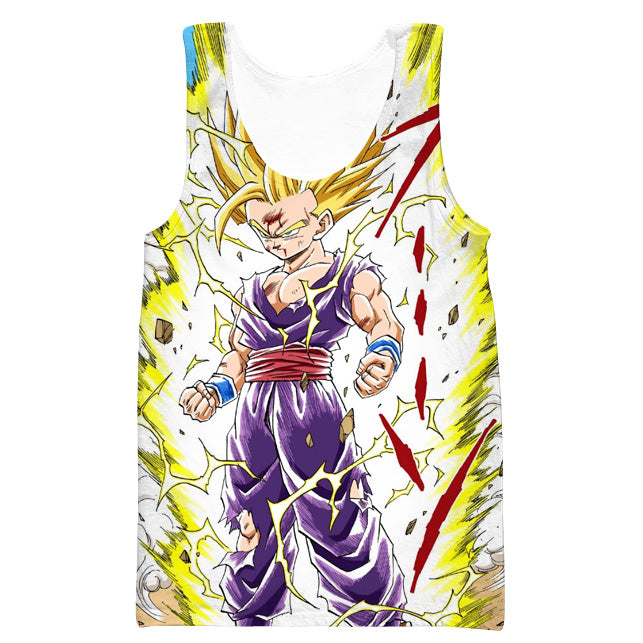 Teen Super Saiyan Gohan 2 Tank Top - Dragon Ball Z Clothes