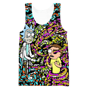 Rick and Morty Acid cool
