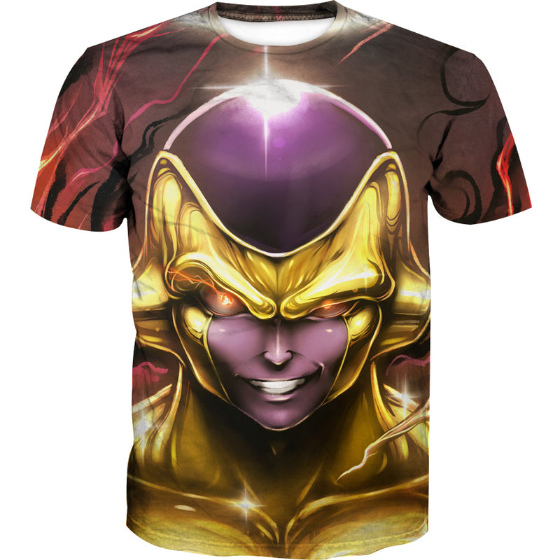 Golden Freeza T-Shirt - Dragon Ball Super Frieza Shirts