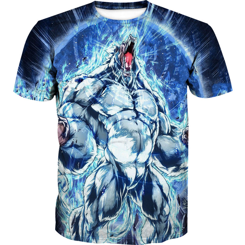 Ultra Instincts Oozaru T-Shirt - Dragon Ball Z Shirts