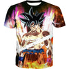 Ultra Instincts Goku Shirt - Dragon Ball Super Goku Clothing