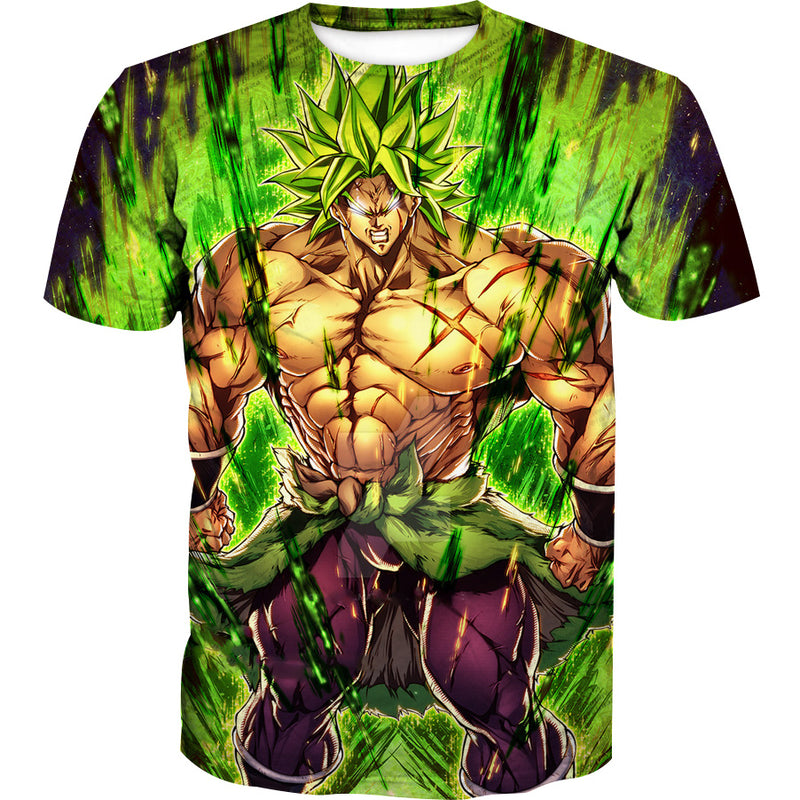 Dragon Ball Super Movie Clothing - Super Saiyan Broly T-Shirt
