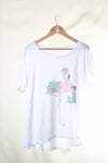 Camiseta Oversize Flamingo Two - El vestidor de Marga