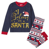"""I believe in Santa"" - Early Years family Christmas pyjama set (Age 2-6)"