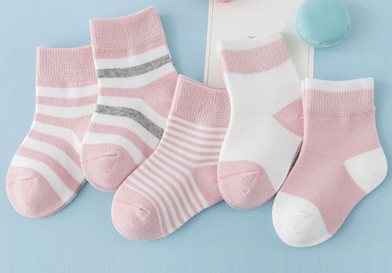 Striped cotton socks - Pack of 5