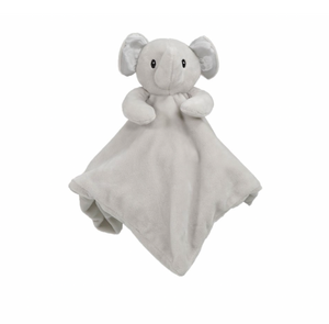 Elephant cuddly comforter - mink - gift toy