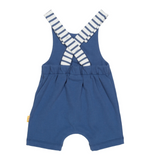Certified organic cotton breton stripe bay dungarees by KITE