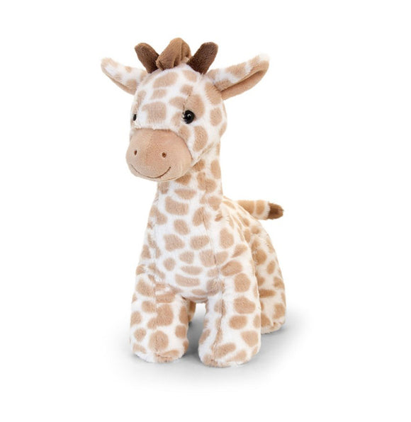 Large 30cm cuddly giraffe toy with sound - gift