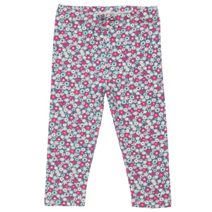 KITE GOTS certified organic cotton pink petal leggings (up to 12 Months)