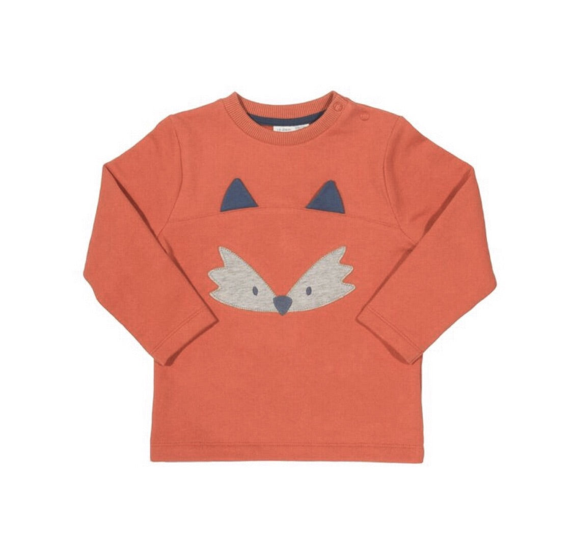 KITE organic cotton fox sweatshirt (0-24 months)
