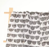 New Season Monochrome rainbow print muslin swaddle blanket 120cm