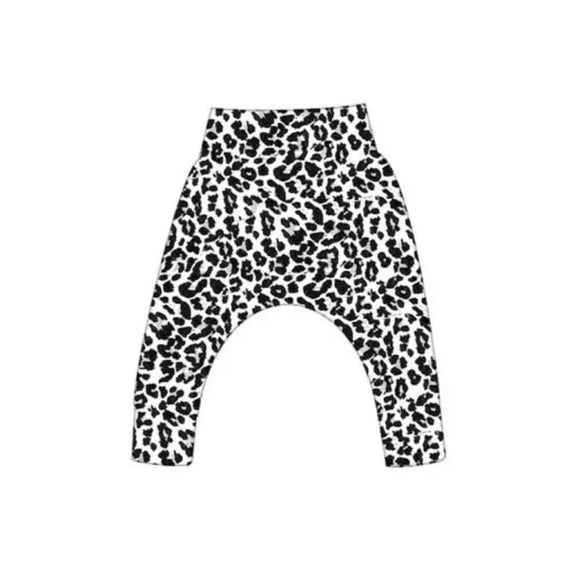 Leopard print monochrome leggings (0-3 years)