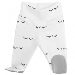 Sleepy lashes monochrome baby bottoms harem pants