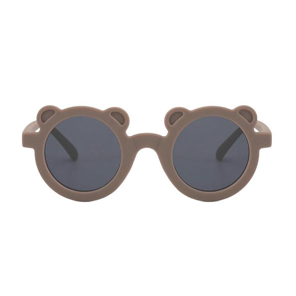 Brown teddy bear sunglasses (One Size - up to 5 years)