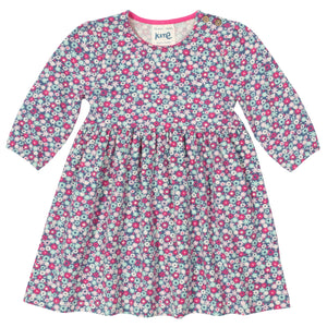 KITE GOTS certified organic jersey cotton petal swing dress (up to 2 years)