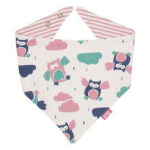 KITE GOTS certified organic cotton woodland own reversible bandana bib