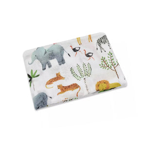 Extra large 120x120cm 100% cotton muslin zoo swaddle blankets
