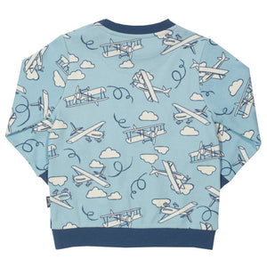 KITE GOTS certified organic cotton fly high sweatshirt (0-12 months)