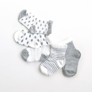 5 pack baby socks with air technology