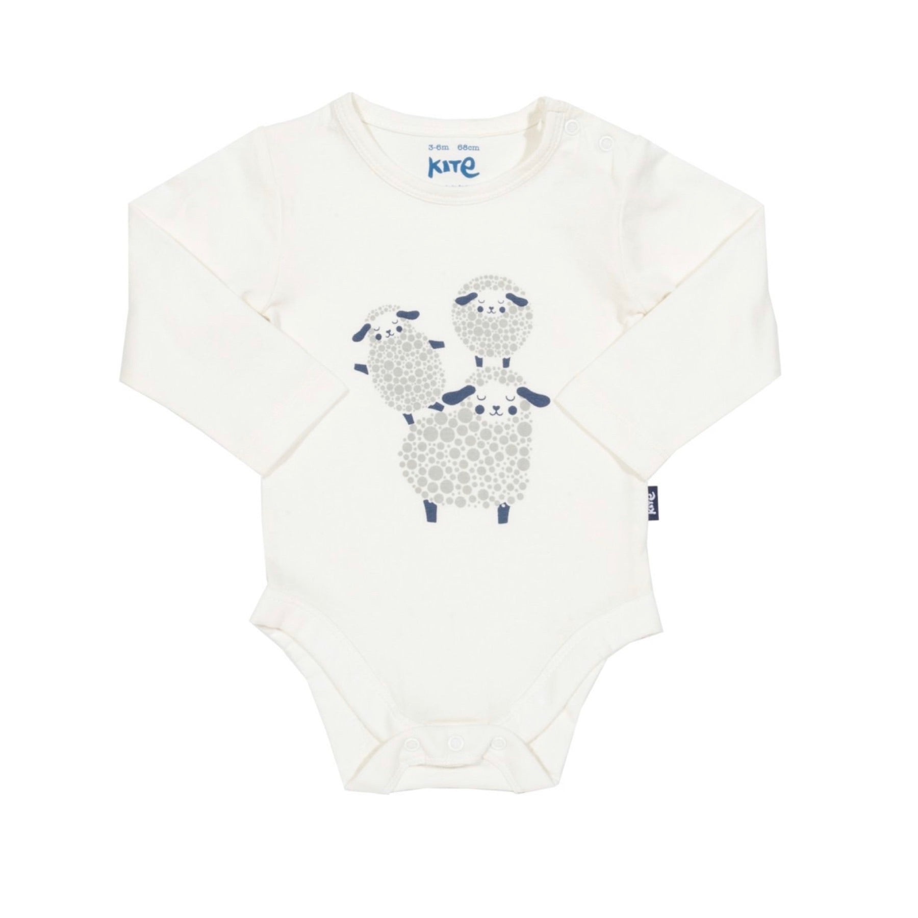 Certified organic cotton sheep dreams bodysuit by Kite
