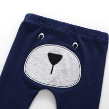 "Navy bear ""Handsome"" embroidered three piece comfort set"