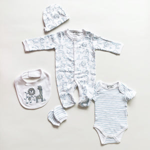 New baby gift set - jungle (0-9 months)