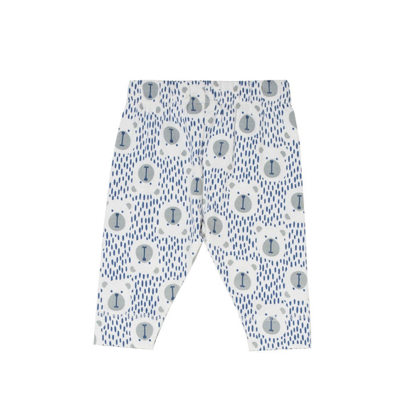 KITE GOTS certified organic cotton speckled bear leggings (0-24 months)