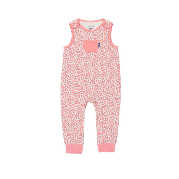 Organic cotton sea floral dungarees by KITE