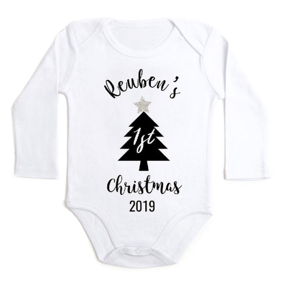 "Personalised ""My First Christmas"" - Christmas Tilly & Reuben Charity Design © 2019"