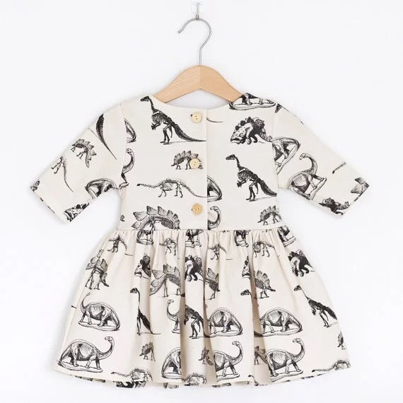 Dinosaur bone hunter dress
