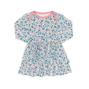 KITE GOTS certified organic jersey cotton flora swing dress (up to 2 years)