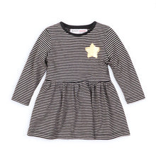 Girls star and stripe print jersey dress (9 months to 3 years)