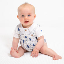 Organic cotton two piece Ellie the Elephant Parade romper by KITE