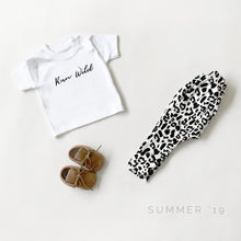Run wild white crew neck T-shirt (0-3 years)