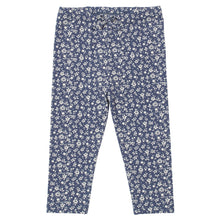 KITE GOTS certified organic cotton navy ditsy floral leggings (up to 12 Months)