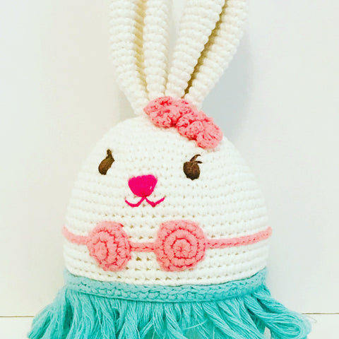 Tropical Bunny Rattle